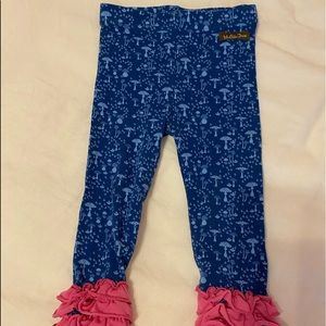 Matilda Jane ruffled leggings